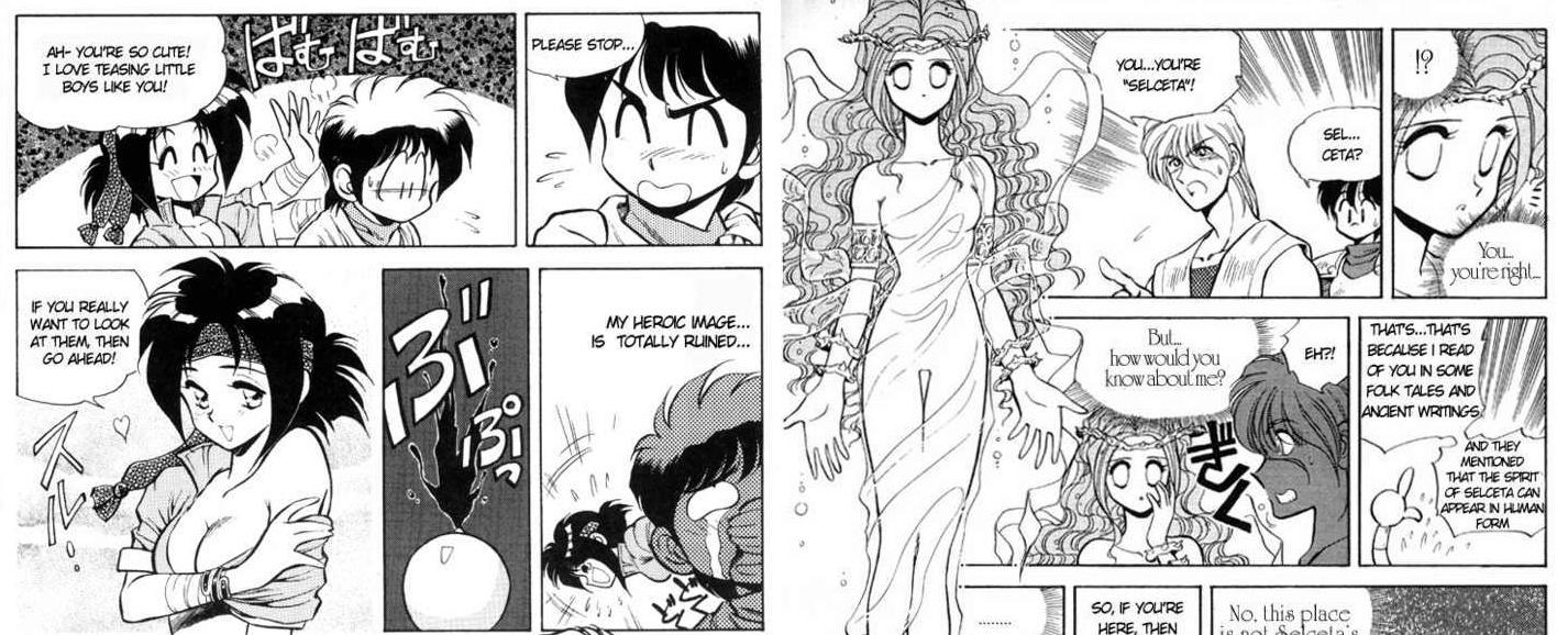 [Falcom] Le Dossier Ys : Partie 3 : Les errances sur console Manga10